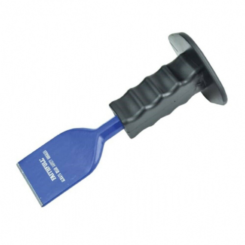 "Faithfull FAIEC214PG Flooring Chisel with Safety Grip 57mm x 230mm (2¼"" x 9"")"